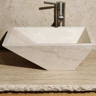 Affordable Stone Rectangular Vessel Bathroom Sink By Allstone Group