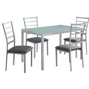 5 Piece Dining Set Monarch Specialties Inc.