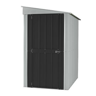 Globel 4 ft. 1 in. W x 7 ft. 11 in. D Metal Lean-To Storage Shed