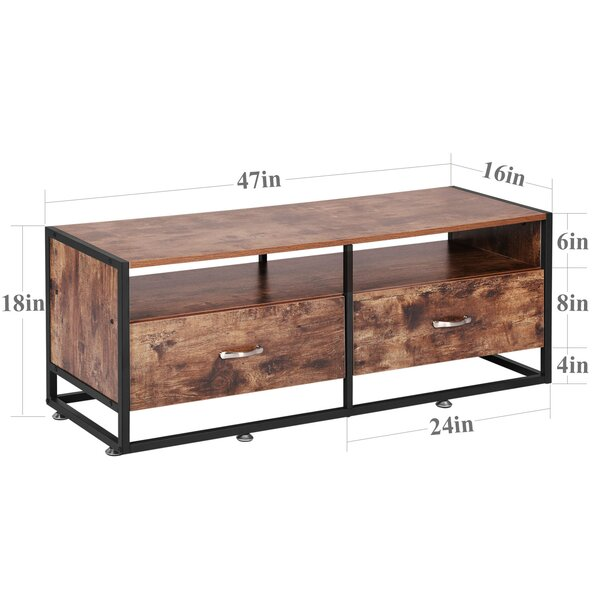 17 Stories Mendiola Tv Stand For Tvs Up To 50 Reviews Wayfair Ca