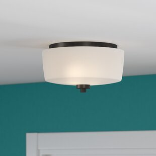 Latitude Run Rosalin 2-Light Flush Mount