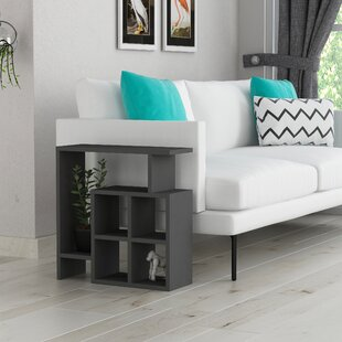Yoselin Modern End Table by Wrought Studio