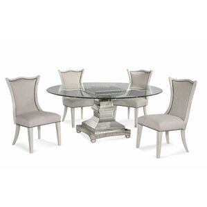 Crowthorne 5 Piece Dining Set by House of Hampton