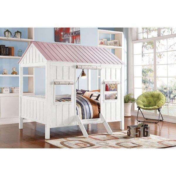 acme furniture spring cottage full bunk bed wayfair rh wayfair com cottage bunk beds ontario cottage bunk beds for sale