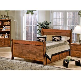 Alders Full Sleigh Bed with Storage by Harriet Bee