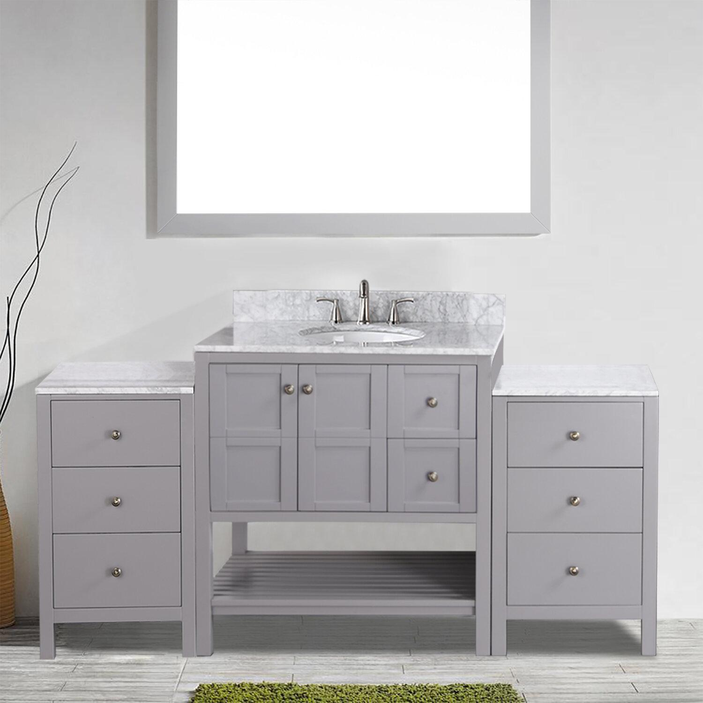 Red Barrel Studio Fikreta 76 Single Bathroom Vanity Set Wayfair