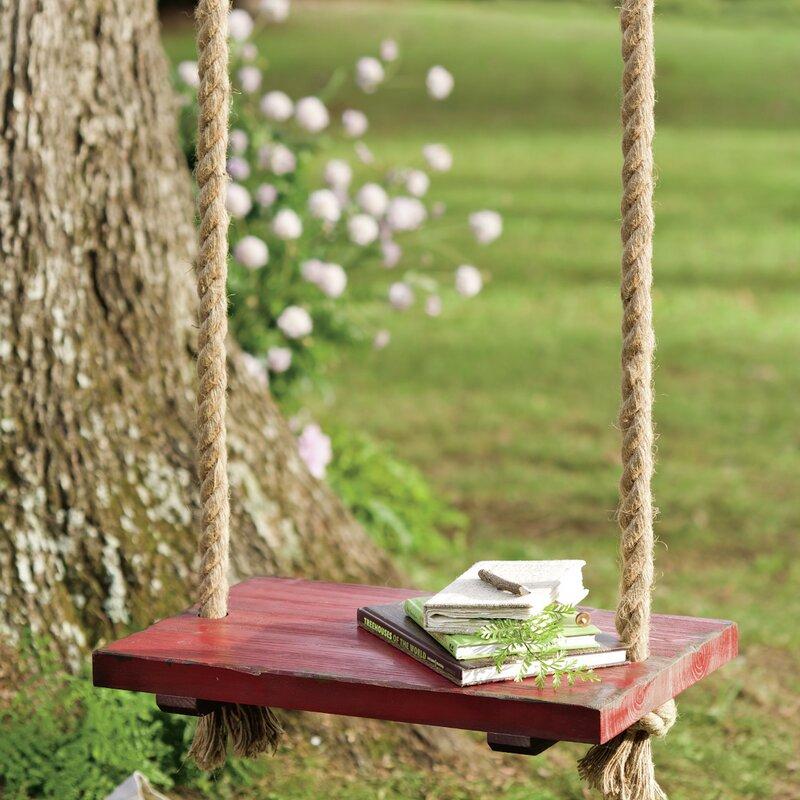 Plow Amp Hearth Rope Tree Swing Amp Reviews Wayfair