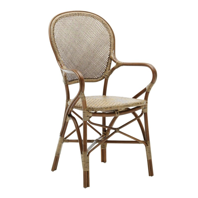 Stacking Patio Dining Chair - DwellStudio Stacking Patio Dining Chair & Reviews DwellStudio