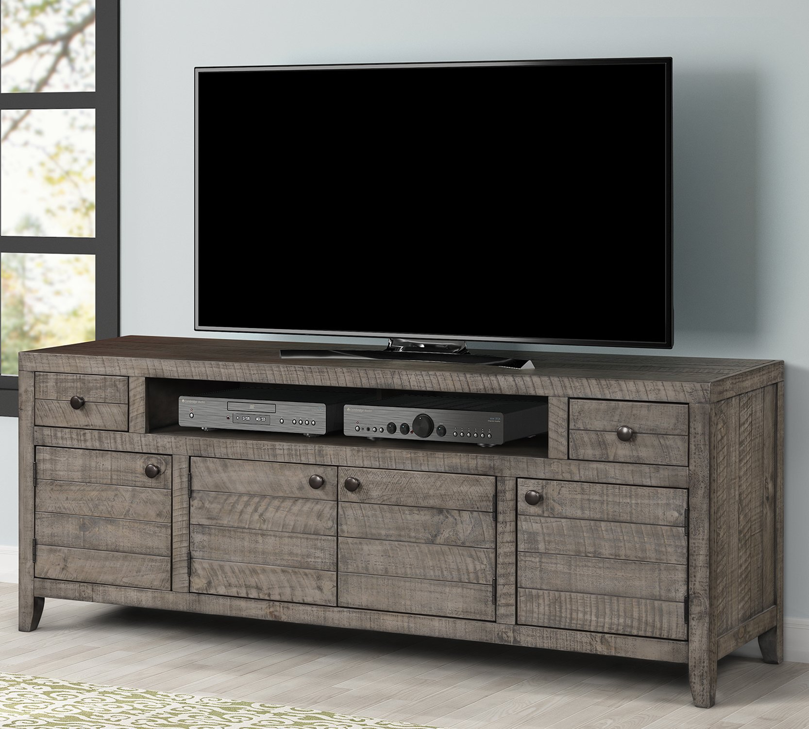 85 Inch Tv Stands Entertainment Centers You Ll Love In 2021 Wayfair