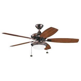 Great Price 52 Princeton 5 Blade LED Ceiling Fan By Andover Mills