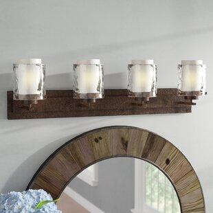Searching for Vidette 4-Light Vanity Light By Laurel Foundry Modern Farmhouse