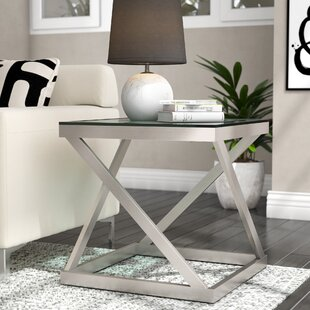 Great choice Evadne End Table by Ivy Bronx