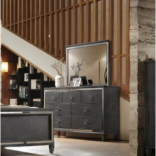 Ezio 7 Drawer Dresser with Mirror