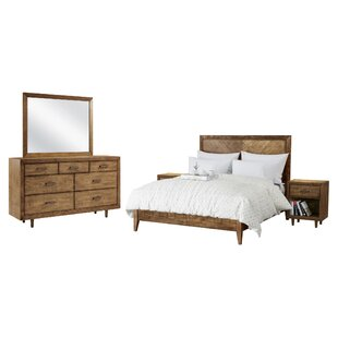 Union Rustic Ames Platform 5 Piece Bedroom Set