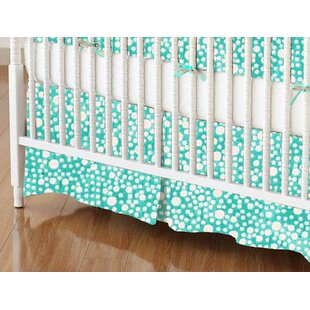 Reviews Confetti Dots Crib Skirt By Sheetworld