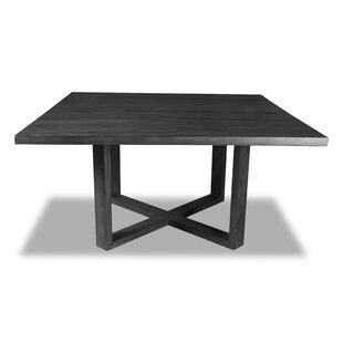 Best Review Nusbaum Solid Wood Dining Table By Union Rustic