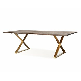 Alvaro Dining Table Everly Quinn