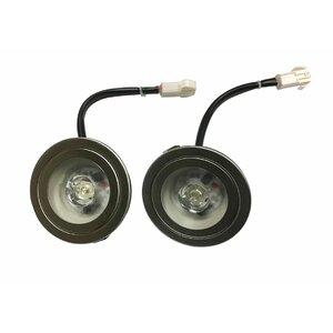 2W 12V Energy Saver LED Ultra-Bright Replacement Light Bulbs for Range Hoods (Set of 2)