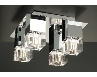 Orren Ellis Mcneil 4-Light Semi Flush Mount