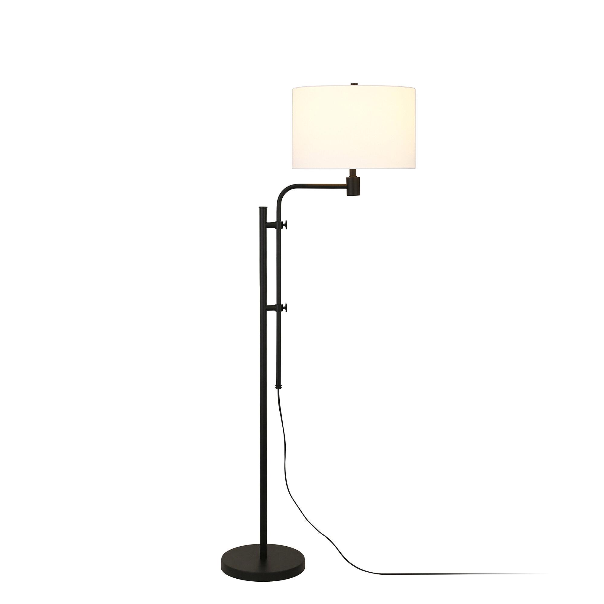 Swing Arm Floor Lamps Free Shipping Over 35 Wayfair