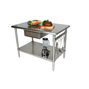 Cucina Americana Prep Table by John Boos