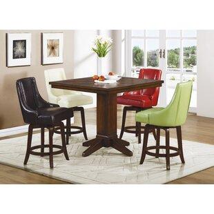 Cajun 5 Piece Pub Table Set by Red Barrel Studio