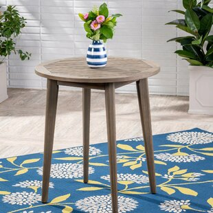 Bangor Solid Wood Bistro Table By Millwood Pines