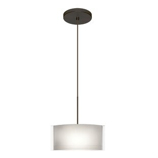 Besa Lighting Jodi 1-Light Drum Pendant