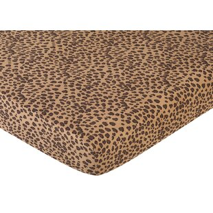 Compare & Buy Cheetah Pink Fitted Crib Sheet BySweet Jojo Designs
