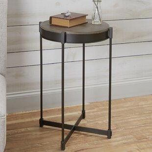 Calvert End Table by Wrought Studio