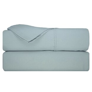 Morris 400 Thread Count Solid 100% Cotton Sateen Sheet Set
