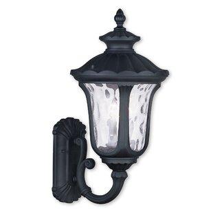 Three Posts Gurnee 3-Light Outdoor Sconce