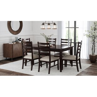 Chula 7 Piece Dining Set by Alcott Hill