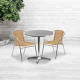 Catlin 3 Piece Bistro Set