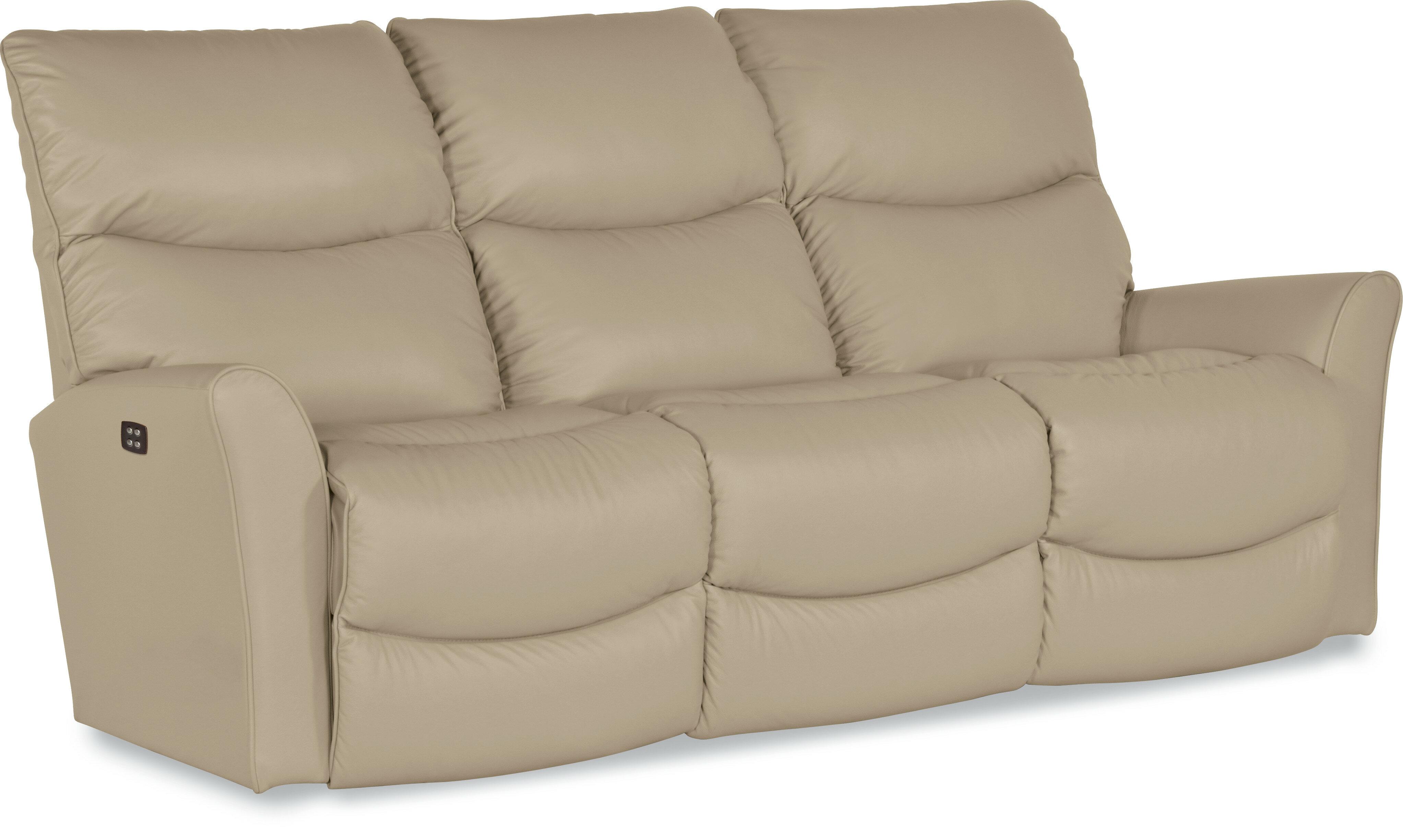products sofa recliner ihnq width godfrey item power threshold bassett reclining mushroom leather height godfreymushroom trim