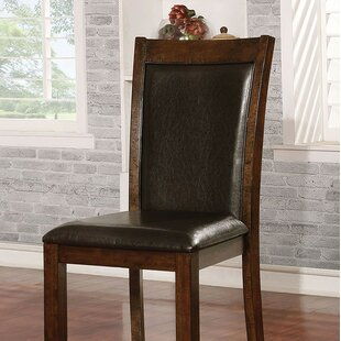 Lorenza Upholstered Dining Chair (Set of 2) Canora Grey