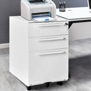 Chesney 3 Drawer Filing Cabinet By Symple Stuff