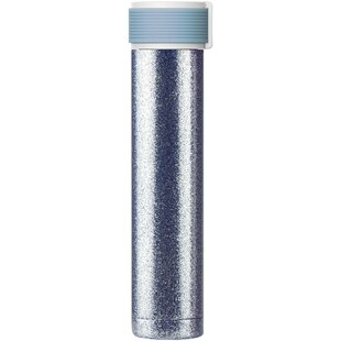 Schwerin Skinny Glitter 8 oz. Stainless Steel Water Bottle