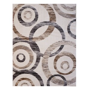 Spheres New Style Ivory Area Rug