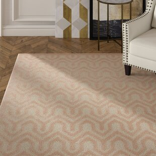 Beaconsfield Ivory/Sand Area Rug byMercer41