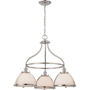 Charlton Home Kenyon 3-Light Shaded Chandelier