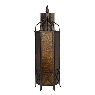 Price comparison Caine 3-Light Outdoor Wall Lantern By World Menagerie