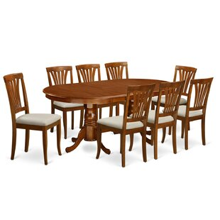 Wooden Importers Newton 9 Piece Dining Set