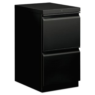 2-Drawer Mobile Vertical Filing Cabinet by HON Best #1