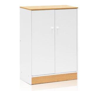 Furinno Manya 2 Door Accent Cabinet