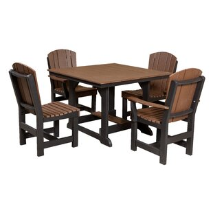 Rosecliff Heights Patricia 5 Piece Dining Set