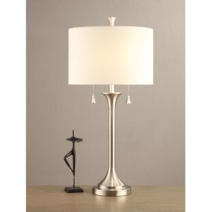 Extra large drum shade wayfair charon drum shade 31 table lamp set of 2 aloadofball Choice Image