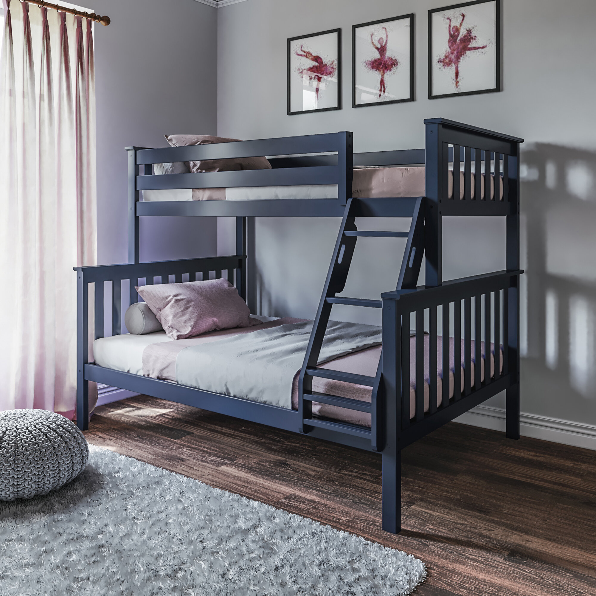 Wood Not Included Bunk Bed Diy Woodworking Plan To Build Your Own Full Over Full Size With Trundle And Hardware Kit For Bunk And Trundle Project Plans