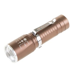 Stalwart CREE LED Zoomable Flashlight Torch
