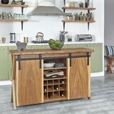 Lylah Forest Retreat Kitchen Island by Millwood Pines